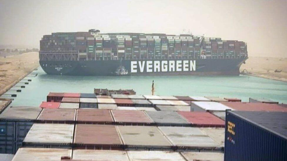 Shipping Products From China To Egypt's Suez Canal