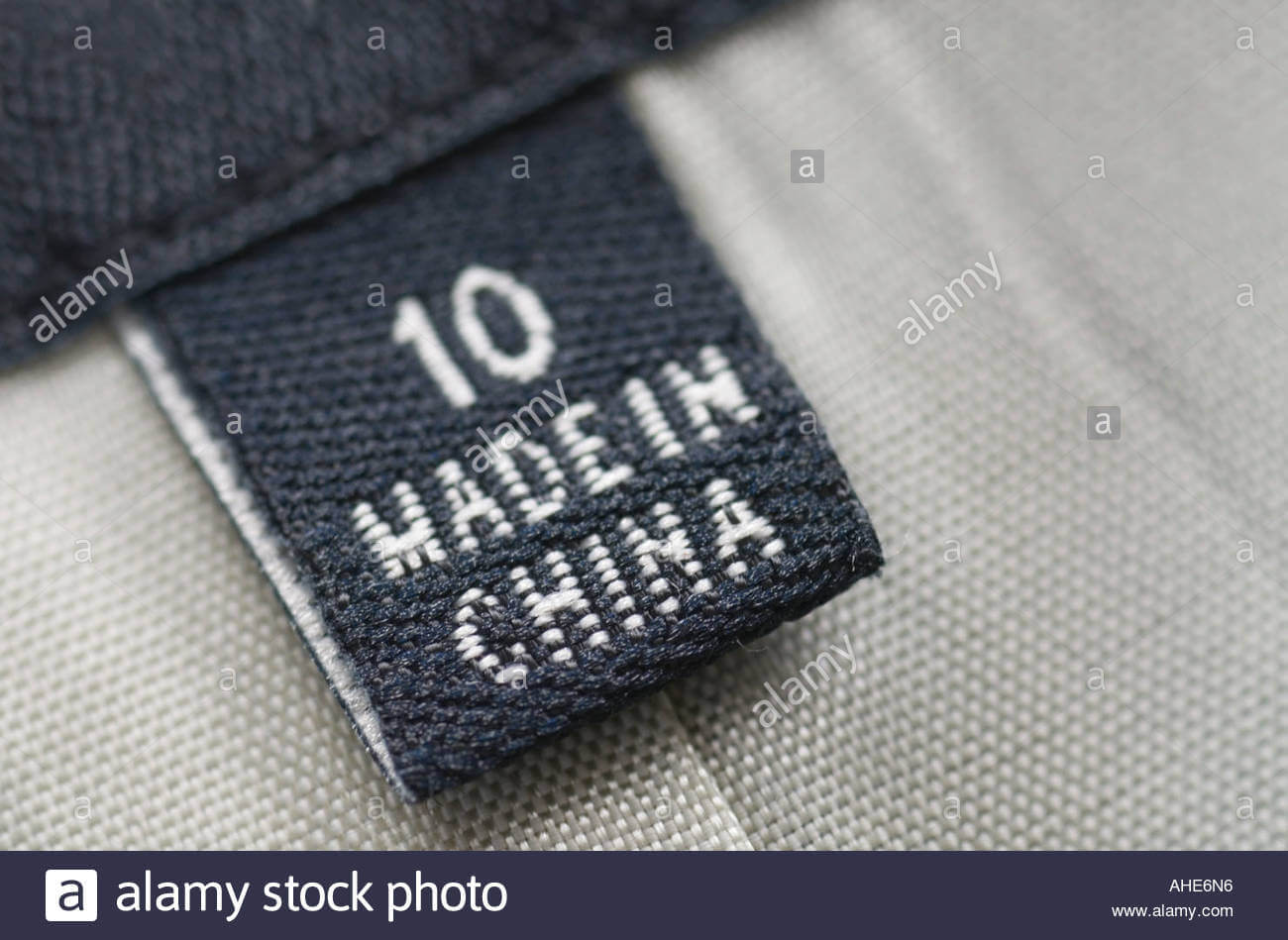 Made in China Product Label