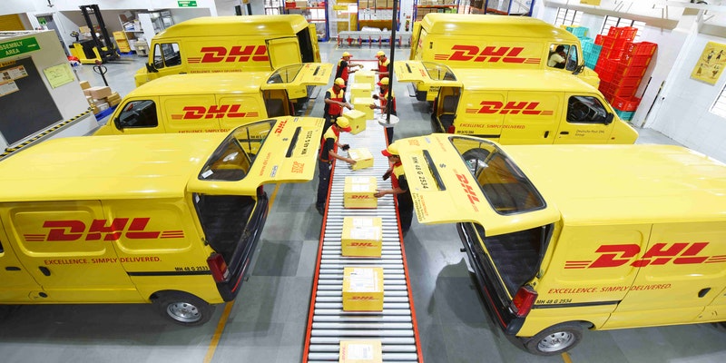 Express courier is the fastest method for shipping from China