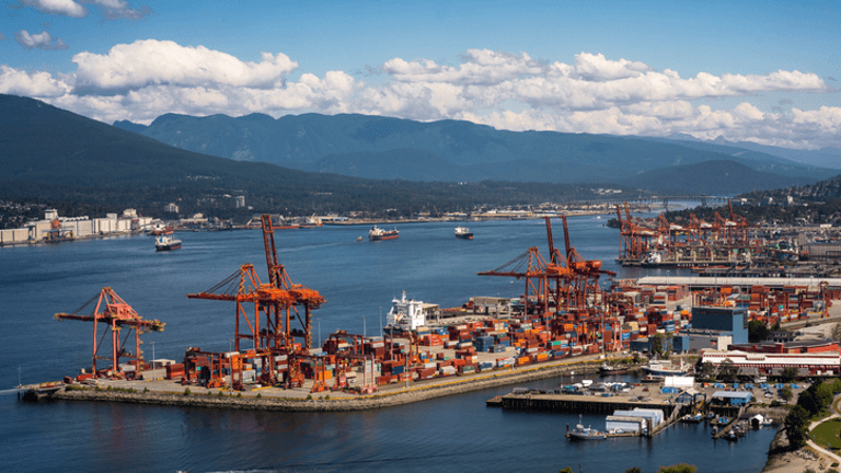 The Port of Vancouver is one of the Biggest Sea Ports in Canada