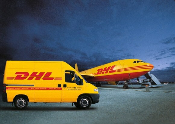 DHL is the best Express courier in Ghana