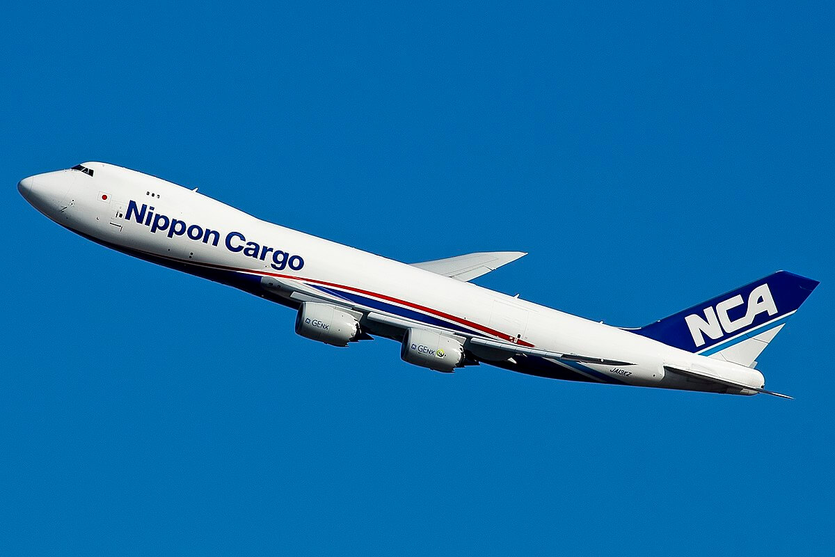 A Boeing 747-8 Cargo Plane, one of the largest Air Cargo plane in operation currently