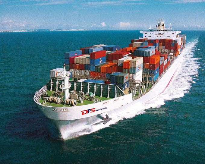 Sea cargo is the cheapest way to ship from China to India