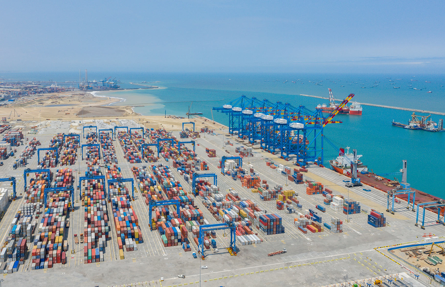 Tema is the largest seaport in Ghana