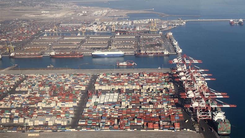 Port of Bandar Abbas, Iran