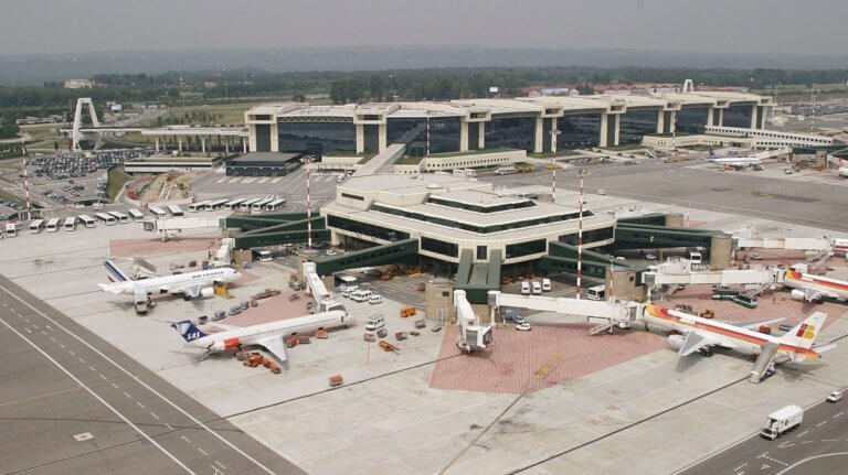 Milan-airport-in-Italy