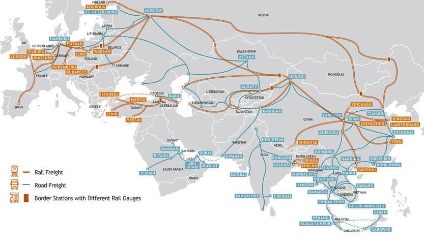 Rail-freight-China-Italy