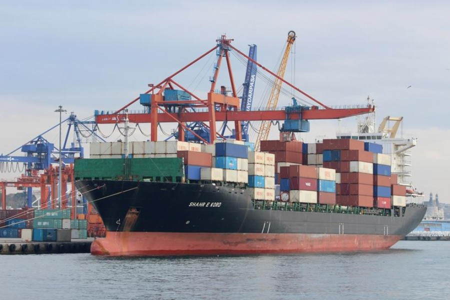 Iran's ships with container