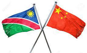 Flag of China and Namibia