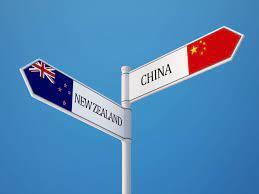 Trade between China and New Zealand
