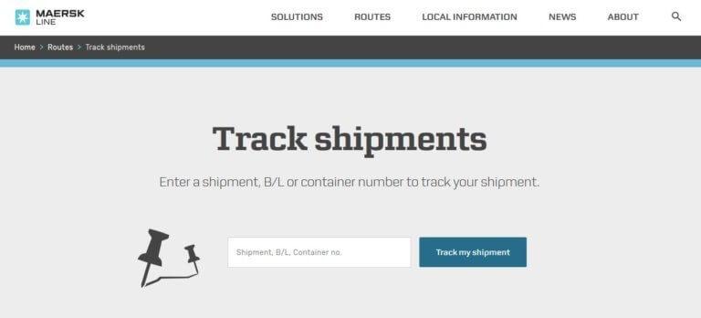 Cargo Tracking Framework of MAERSK