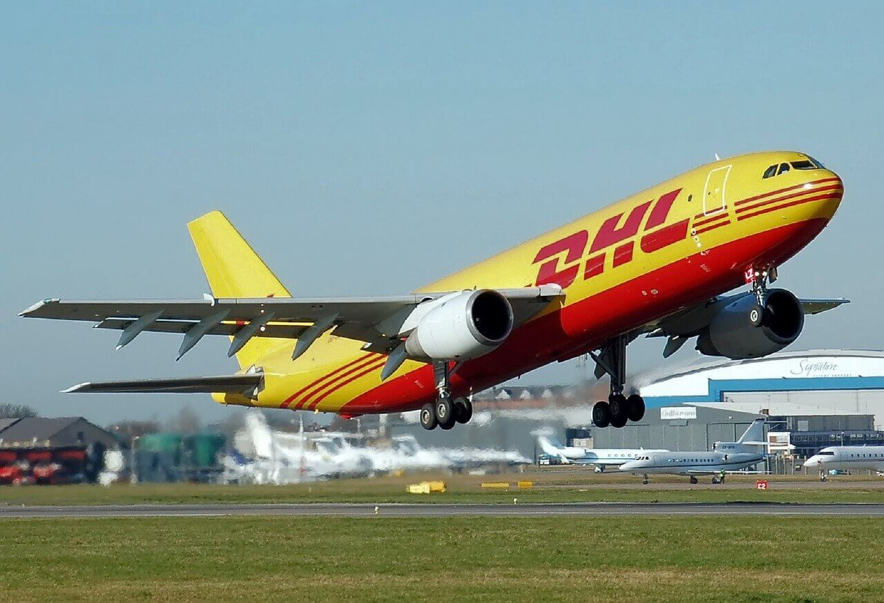 DHL-Express-to-deliver-goods.
