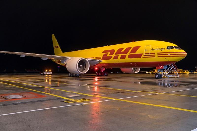 DHL express is the leading air freight service provider.