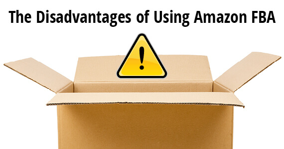 FBA shipments disadvantages