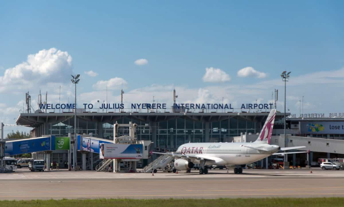 An Image of the Dar es Salaam Julius Nyerere International Airport