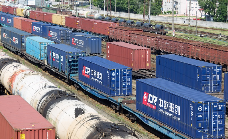 Railway shipment is a cost-effective mode.