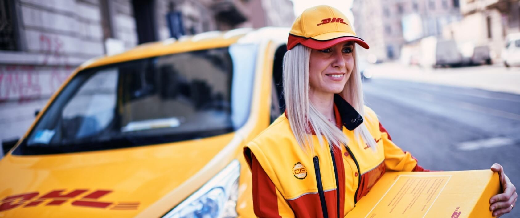 DHL offer excellent courier pickup and delivery service
