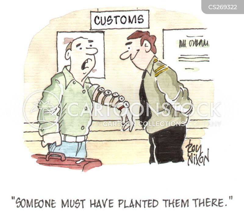 Misunderstanding With Customs Officer for Products