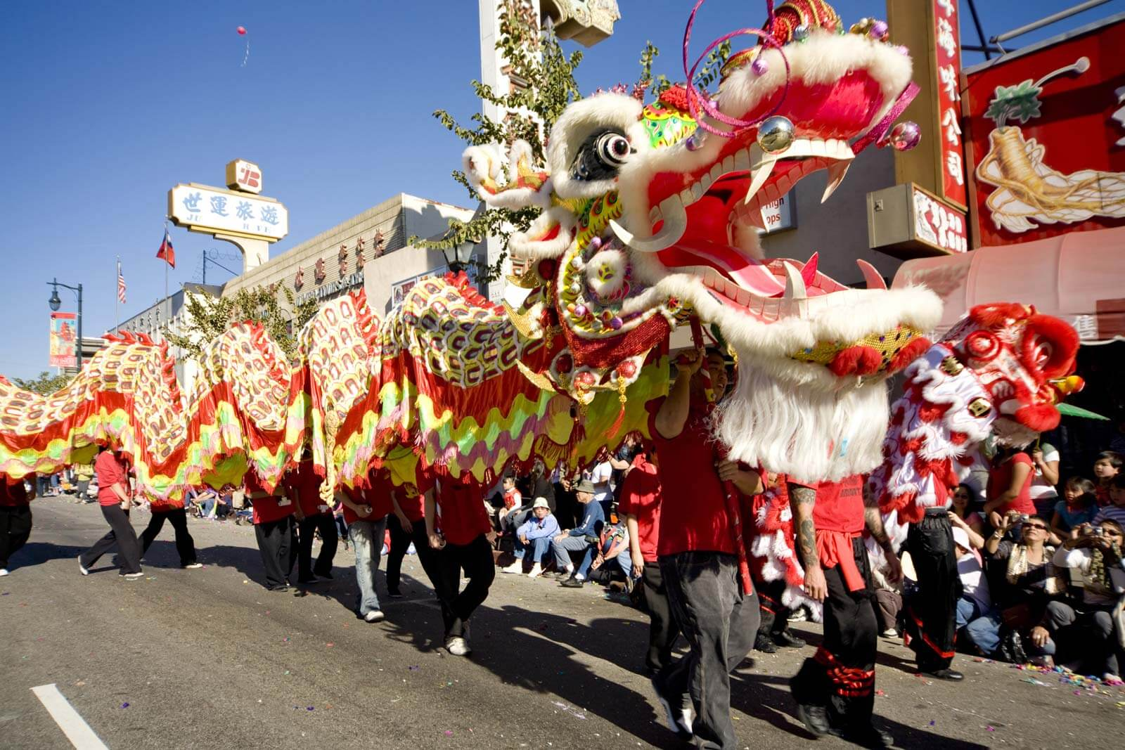 Chinese new year is big holiday