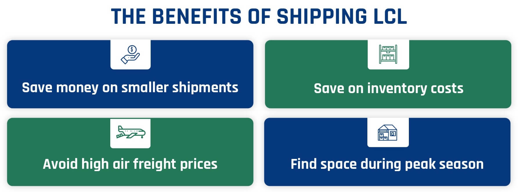 Advantages of LCL Container Shipping