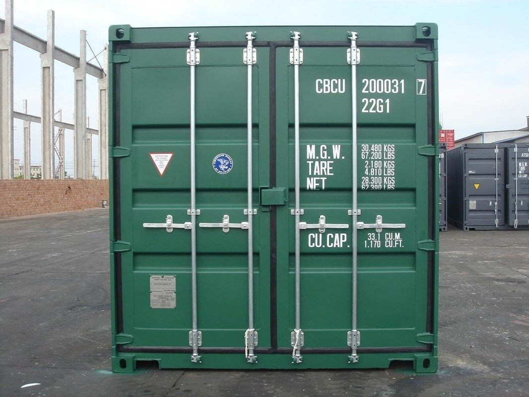 Container shipment in the sea freight is the cheapest solution.