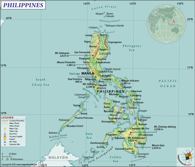 The Philippines in Map