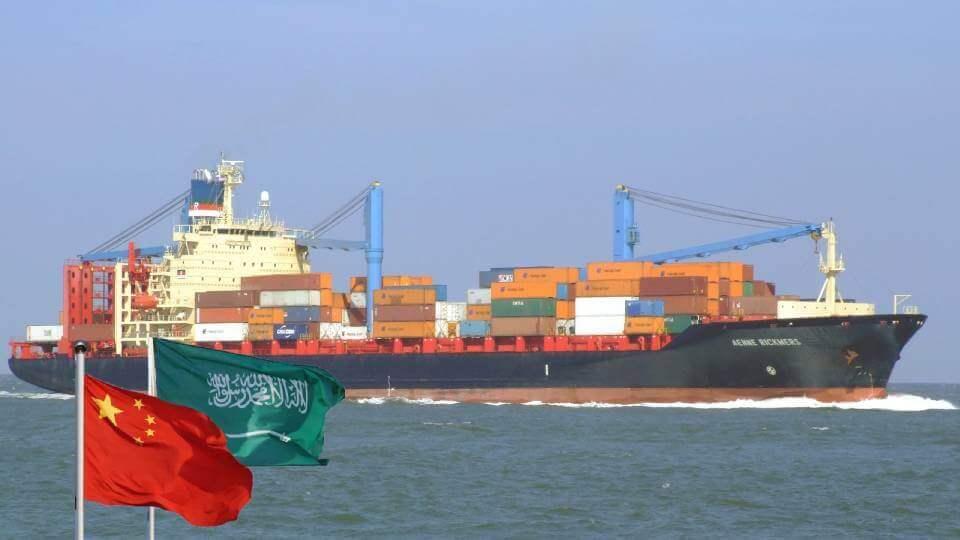 Shipping from China to Saudi Arabia