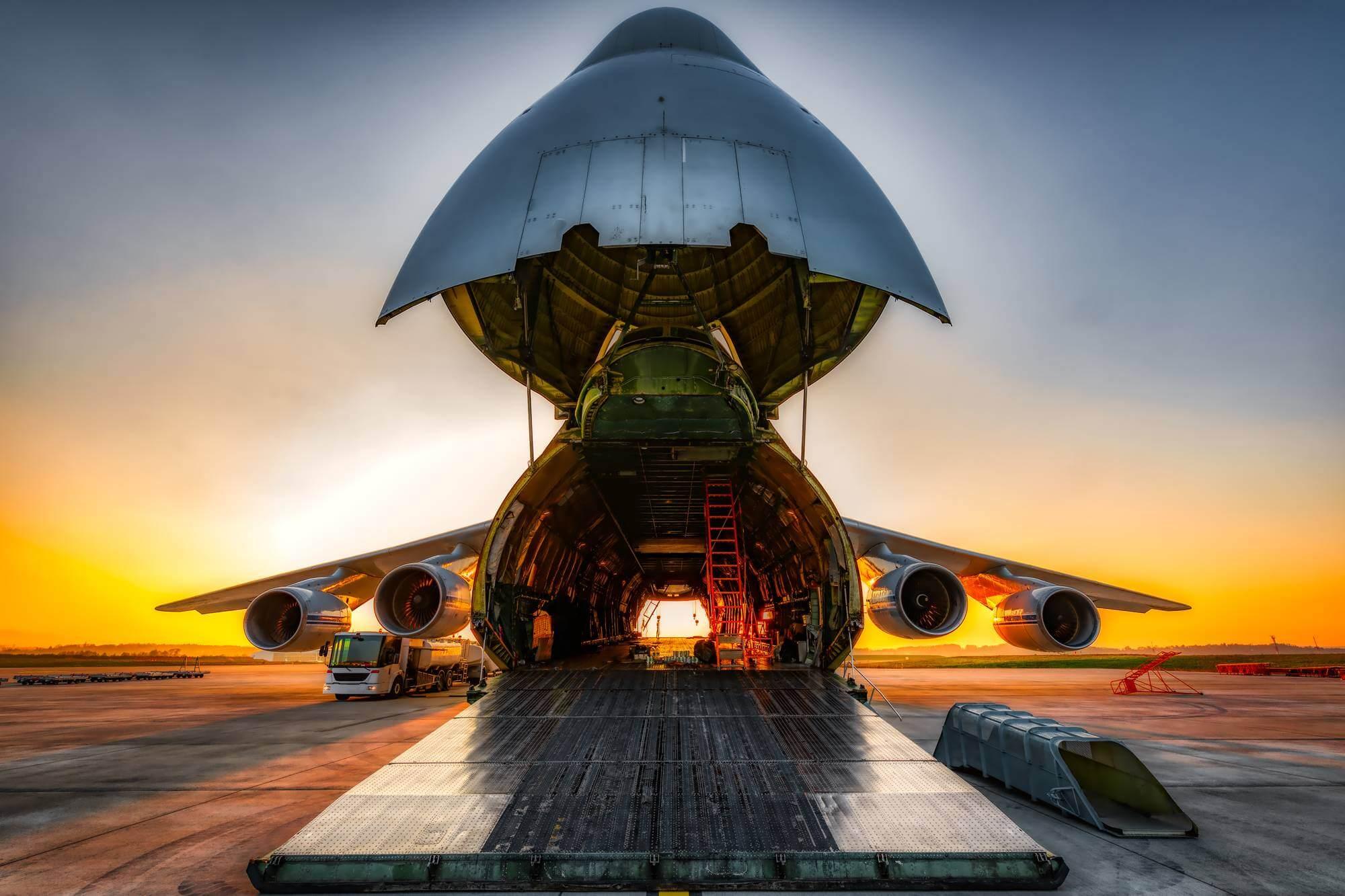 Unloaded Air Cargo