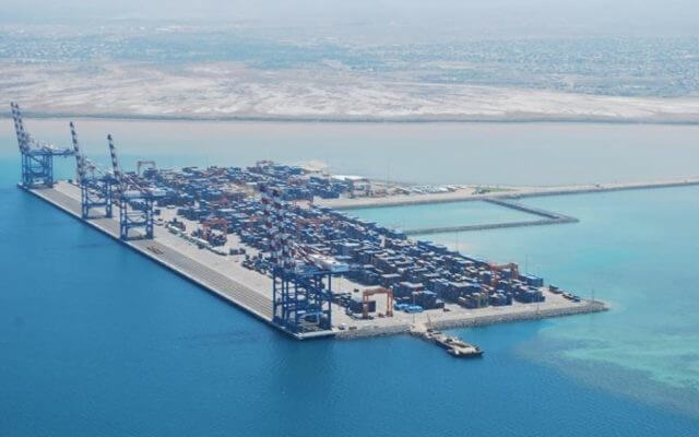The Port of Djibouti Handles all the Import and Export Cargo of Ethiopia