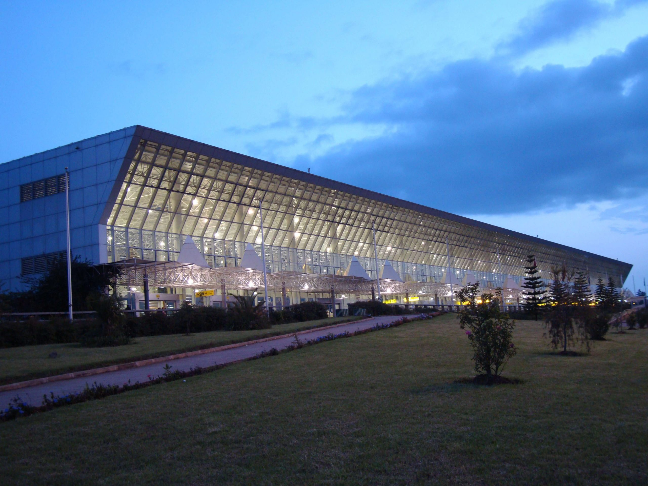 An Image of the Main Terminal of the Addis Ababa Bole International Airport