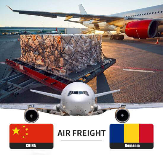 Air freight From China To Romania.