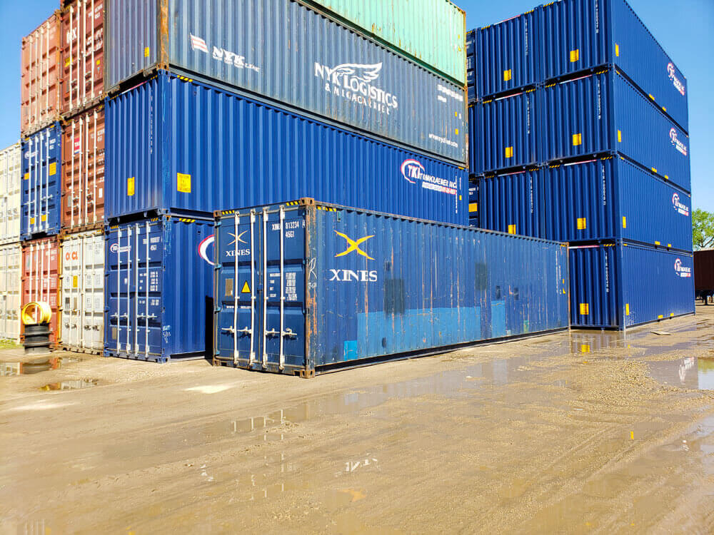 40-Foot Container Ship From China to Botswana