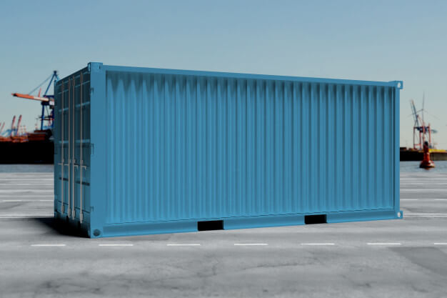 A 20ft container is an usual container used in shipment