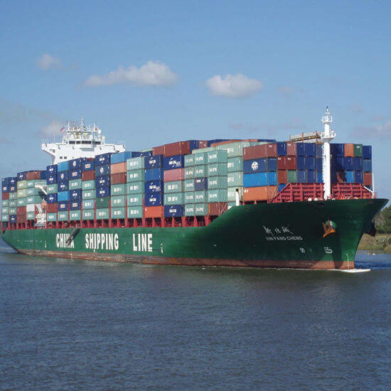 Sea Freight From China to Portugal.